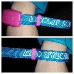 One of the coolest parts of the MX tour...xylobands!